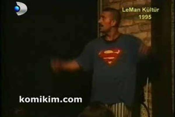 cem yilmaz 1995 leman kultur superman komikim